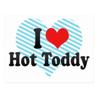 I Love Hot Toddy Postcard