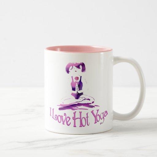 I love Hot Yoga-Mug