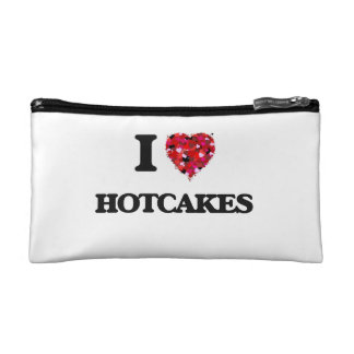 I Love Hotcakes Cosmetics Bags