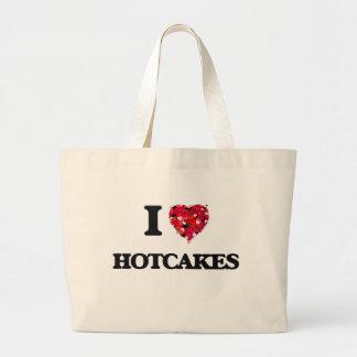 I Love Hotcakes Jumbo Tote Bag