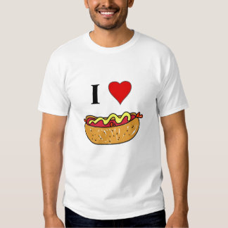 I Love Hotdogs Shirt