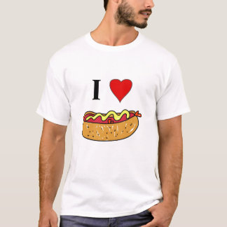 I Love Hotdogs T-Shirt