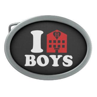 I Love Hotel Boys Belt Buckle