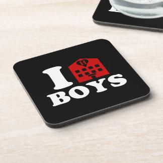 I Love Hotel Boys Beverage Coaster