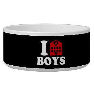 I Love Hotel Boys Bowl
