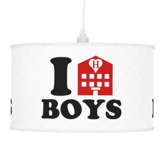 I Love Hotel Boys Ceiling Lamp