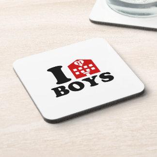 I Love Hotel Boys Coaster