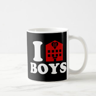 I Love Hotel Boys Coffee Mug