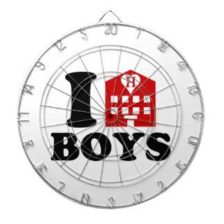 I Love Hotel Boys Dart Board