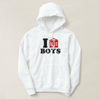 I Love Hotel Boys Hoodie