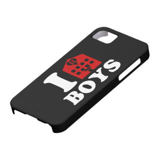 I Love Hotel Boys iPhone SE/5/5s Case