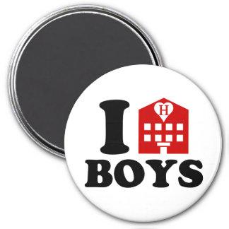 I Love Hotel Boys Magnet