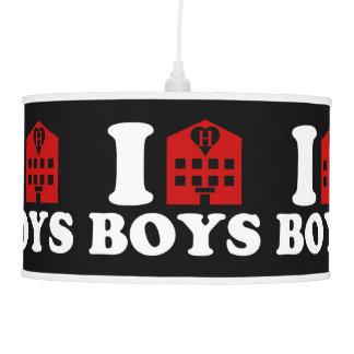 I Love Hotel Boys Pendant Lamp