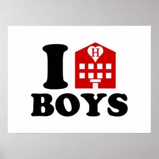 I Love Hotel Boys Poster