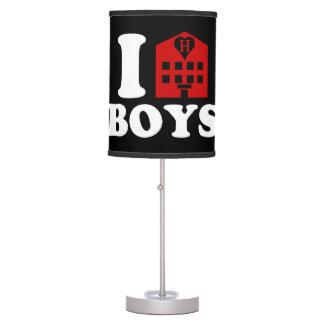 I Love Hotel Boys Table Lamp
