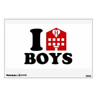 I Love Hotel Boys Room Sticker
