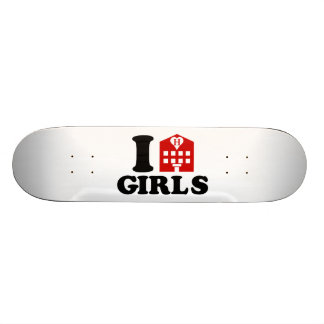 I Love Hotel Girls Skateboard