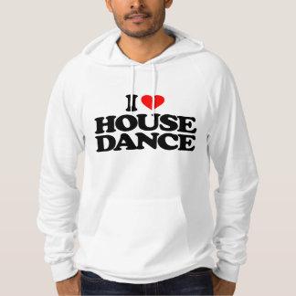 I LOVE HOUSE DANCE HOODIE