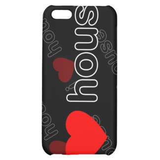 I Love House DJ and Music i iPhone 5C Cover