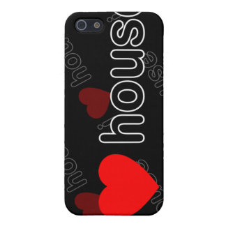 I Love House DJ and Music i Cases For iPhone 5