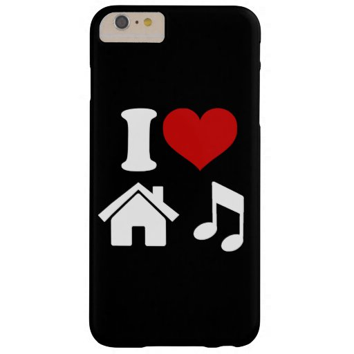I Love House Music Barely There iPhone 6 Plus Case