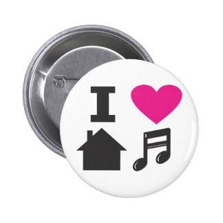 I love house music pin