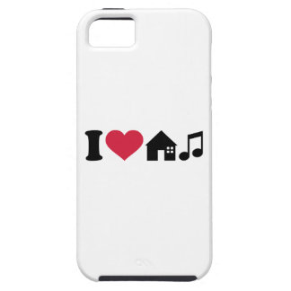 I love House music iPhone 5 Cases