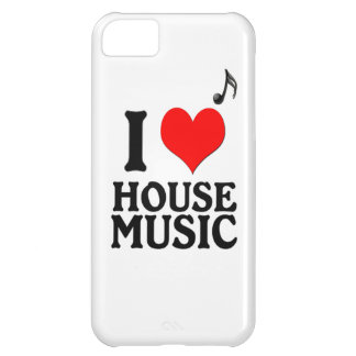 I Love House Music Cover For iPhone 5C