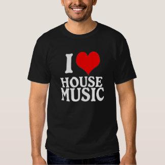 I LOVE HOUSE MUSIC - Dark ed. T Shirt