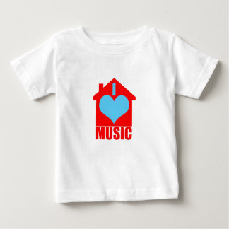 I Love House Music - Heart House Baby T-Shirt