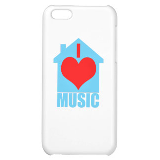 I Love House Music - Heart House iPhone 5C Cases