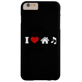 I Love House Music iPhone 6/6s Barely There iPhone 6 Plus Case
