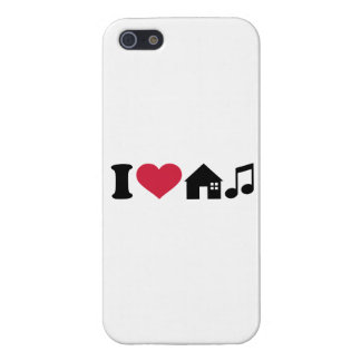 I love House music Cover For iPhone 5