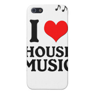 I LOVE HOUSE MUSIC CASE FOR iPhone 5