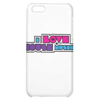 I Love House Music iPhone 5C Cover