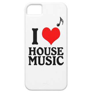 I Love House Music iPhone SE/5/5s Case