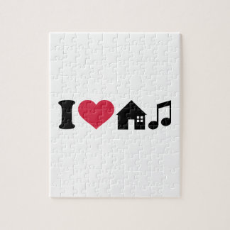 I love House music Jigsaw Puzzles