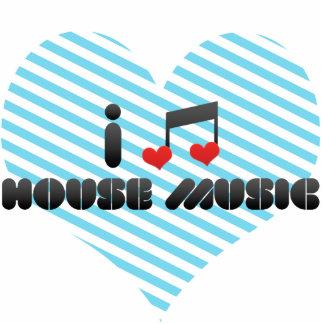I Love House Music Photo Sculpture