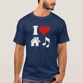 I Love House Music T-Shirt
