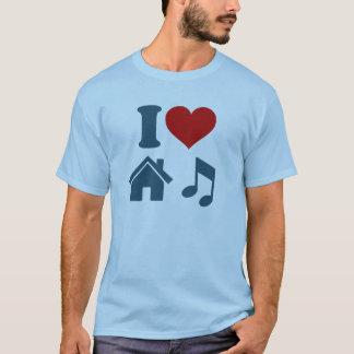 I Love House Music T-Shirt   Dance Ibiza DJ Gift