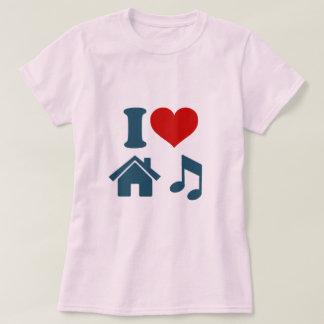 I Love House Music Women's T-Shirt