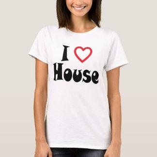 I Love House T Shirt Light