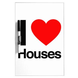 i love houses Dry-Erase board