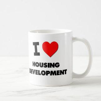 I Love Housing Development Classic White Coffee Mug