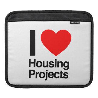 i love housing projects iPad sleeve