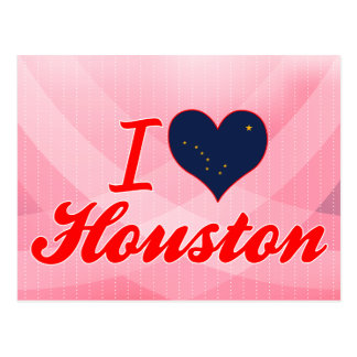 I Love Houston, Alaska Post Card