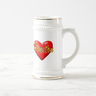 I Love Houston Beer Stein