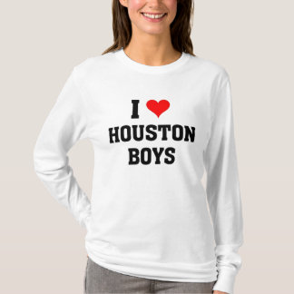 I love Houston Boys T-Shirt