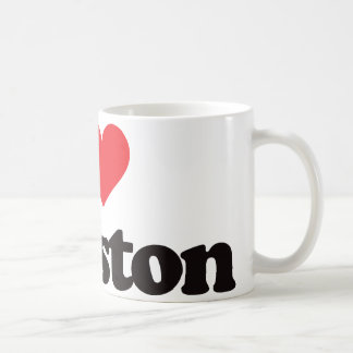 I Love Houston Coffee Mug
