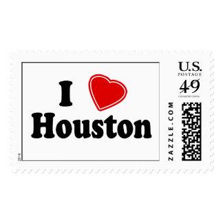 I Love Houston Stamp